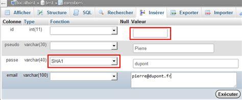 mysql date format e insert ins 233 rer des donn 233 es dans une table mysql