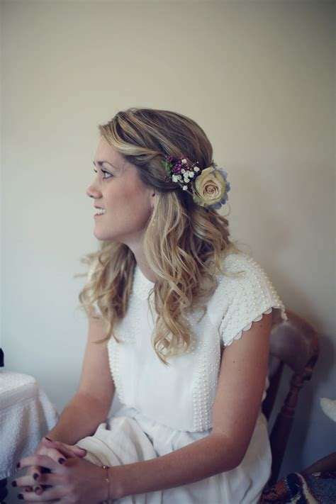 Vintage Wedding Hair With Flowers by Hair Flowers Hanging Flowers Inspired Wedding