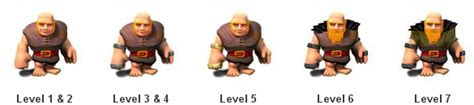 Coc Barbarian Lev 7 clash of clans level 5 www imgkid the image