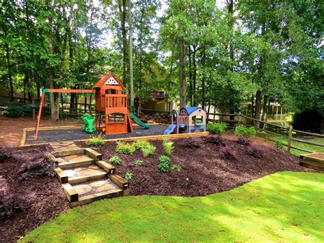 landscaping a hill in backyard wonderful landscaping ideas for hills bistrodre porch