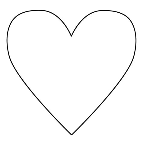 coloring pictures of love hearts 35 good heart template for cutouts for heart animals