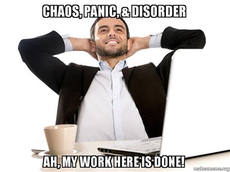 Panic Attack Meme - 5 reasons bi tools are totally useless