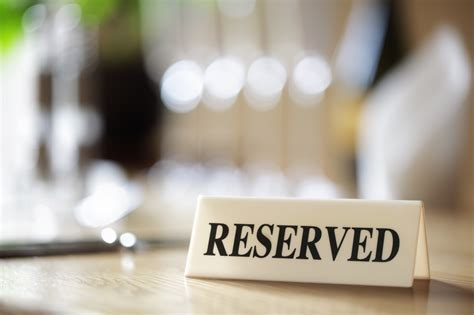 of the table reservations infos sur reservation arts et voyages