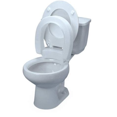 high rise toilet seat walmart medline standard raised toilet seat without arms walmart