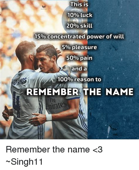 Remember The Name Meme - 25 best memes about and a 100 reason to remember the name