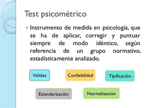 test psicometrico el test psicom 233 trico y la evaluaci 243 n neuropsicol 243 gica