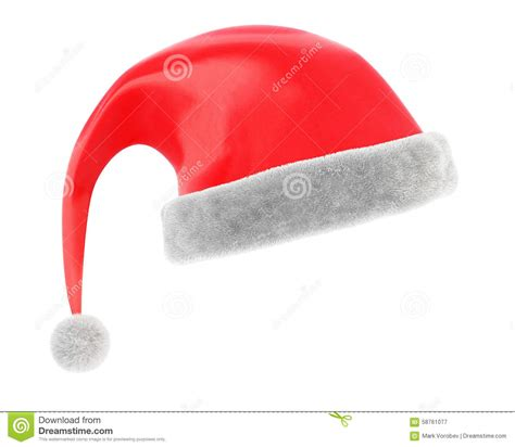 christmas cap stock illustration image 58761077