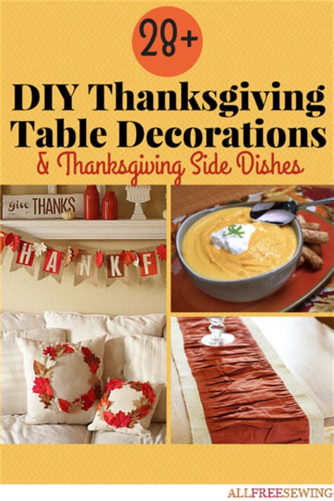 home decorating sewing projects 28 images thanksgiving 28 diy thanksgiving table decorations thanksgiving side