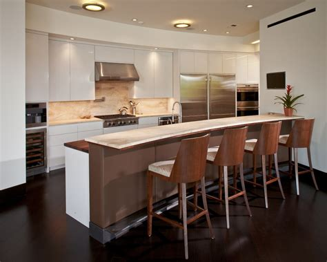 Curved Kitchen Cabinets Bar Front Design Kitchen Modern With Steel Toe Kick Curved Bar Leather Wrapped Bar Front