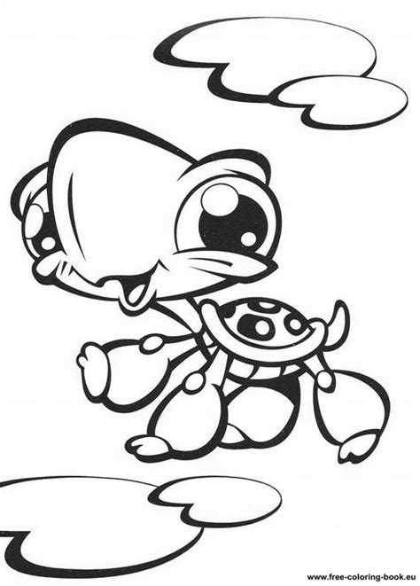 lps coloring pages online coloring pages littlest pet shop page 1 printable