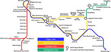 Vancouver Subway Map by File Vancouver Skytrain Planned Lines Map Png Wikimedia
