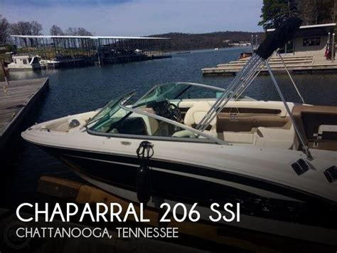 used chaparral boats for sale in tennessee for sale used 2013 chaparral 206 ssi in chattanooga