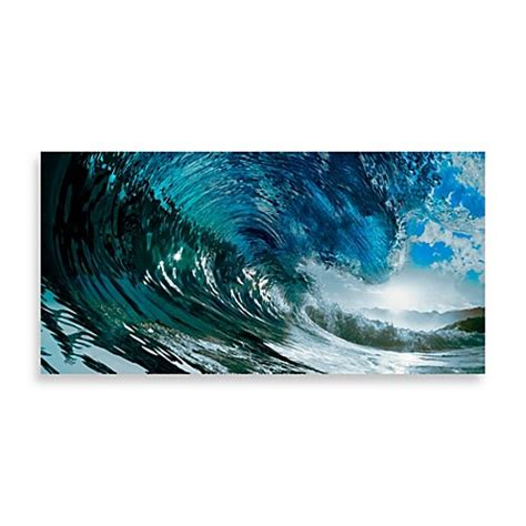 bed bath and beyond paintings quot catch a wave quot wall art bed bath beyond