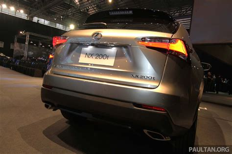 lexus nx malaysia lexus nx launched in malaysia from rm299k rm385k image 307929