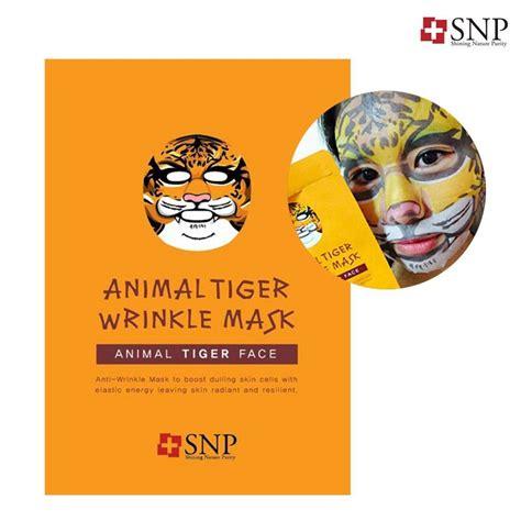 Masker Animal Snpanimal Mask 1 uk stock korea snp moisturising animal mask x10 ebay