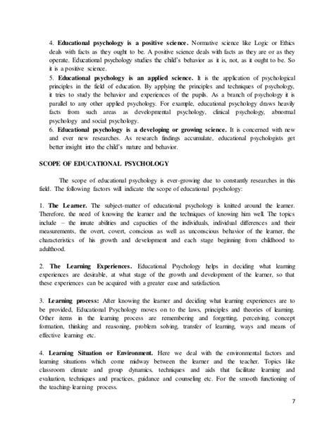 educational psychology thesis topics essay topics for educational psychology