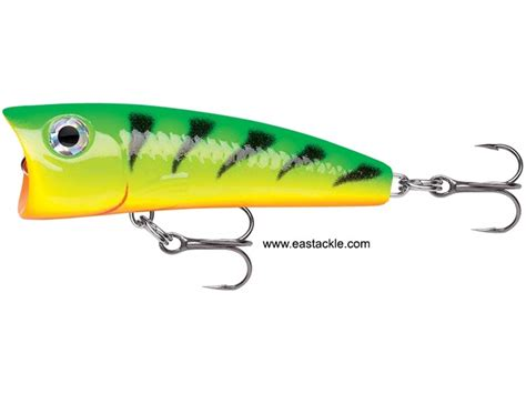 Lure Light Popper rapala ultra light pop ulp04 tiger floating