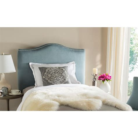 safavieh jeneve wedgwood blue queen headboard mcr4684e