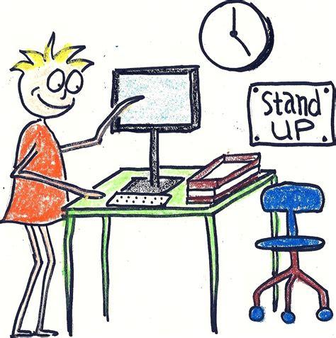 stand up work die hard brain june 2012