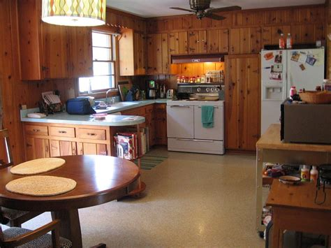 kitchen cabinets on knotty pine walls decorating ideas for tracy s knotty pine kitchen readers