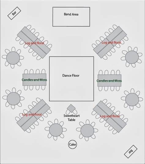 wedding reception layout for mc 1118 best chair decor and tables chairs setup images on