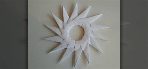 How To Make A Paper Sun - how to craft an origami sun like spritzer circle 171 origami