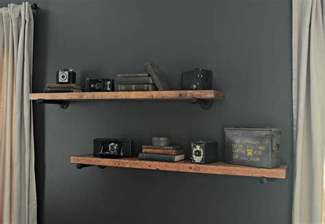 diy industrial shelving tutorial black decker drill