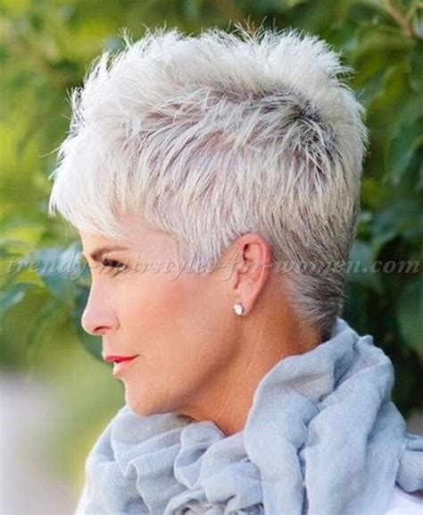 spikey short hairstyles for over 60s short hairstyles over 50 hairstyles over 60 spiky short