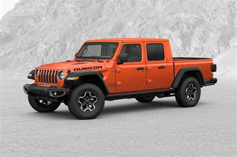 How Much Will The 2020 Jeep Gladiator Cost by 2020 Jeep Gladiator Rubicon Build And Price Exterior Front