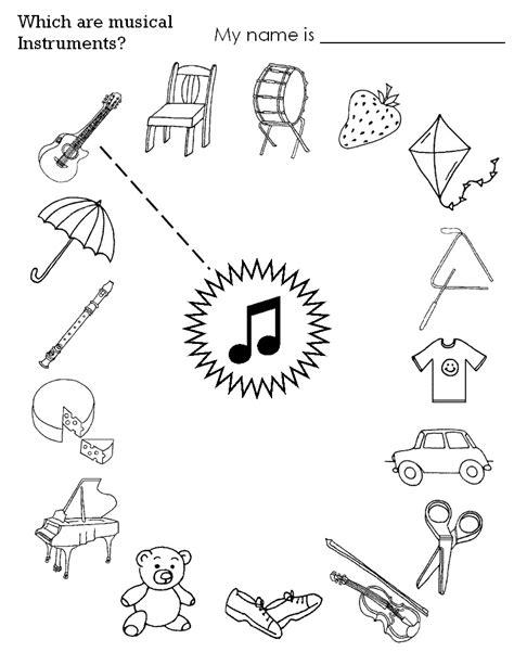 printable music games for kindergarten 2017 02 find musikinstrumenterne logopedia pinterest