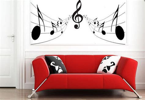 music note bedroom music notes wall sticker bedroom kitchen from gdirect wall