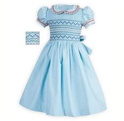 traditional toddler girls smocked corduroy dress