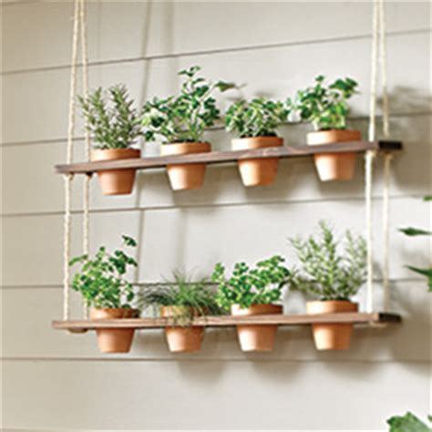 hanging window garden how to make a hanging herb garden garden club
