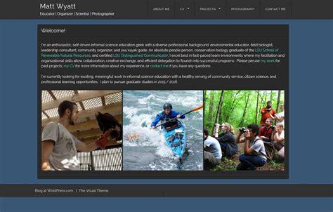 Portfolio Website For Mba Student by Digital Portfolio Exles