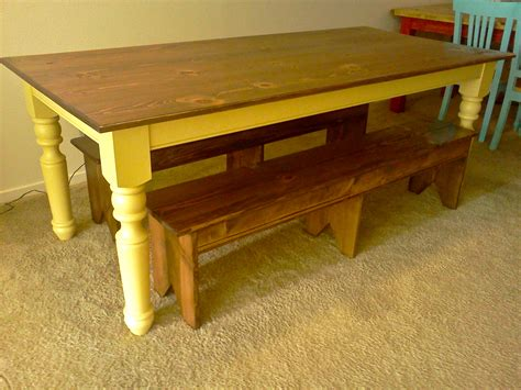how to a farm table white turned leg farmhouse table diy projects