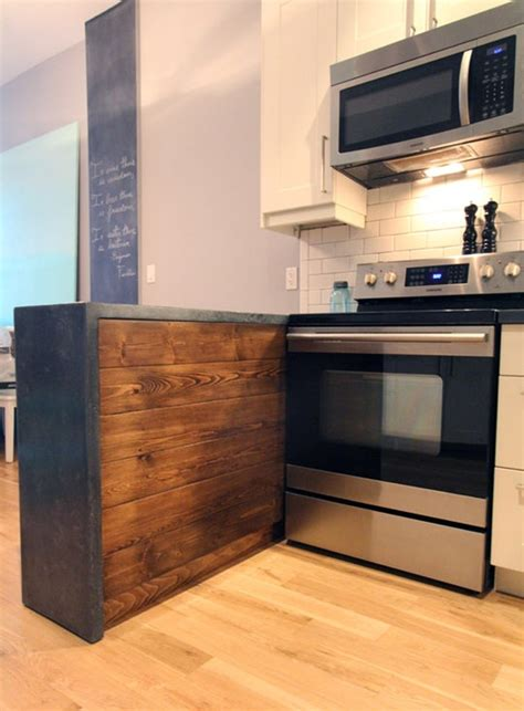 Do It Yourself Kitchen Countertops Renovation Inspiration Do It Yourself Concrete Kitchen Countertops Apartment Therapy