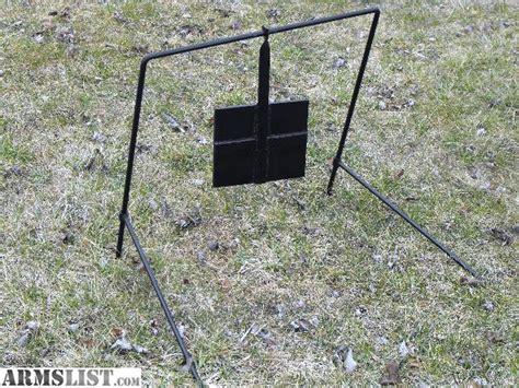swinging steel targets armslist for sale trade steel swinging pistol targets