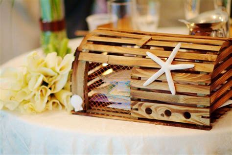 lobster trap card box   Wedding Guestbook & Card Box Ideas
