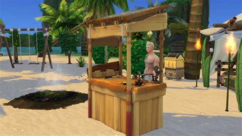 mod  sims castaways woodworking table  serinion