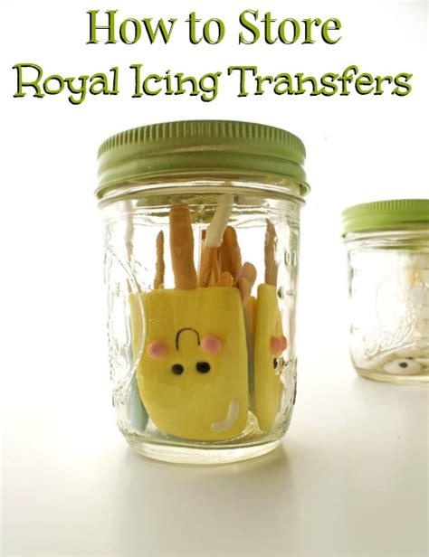 Royal Icing Transfers The Bearfoot How To Store Royal Icing Transfers The Bearfoot Baker