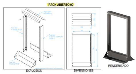 Rack Metalico by Cableado Estructurado Rack Bcep2015 Nl