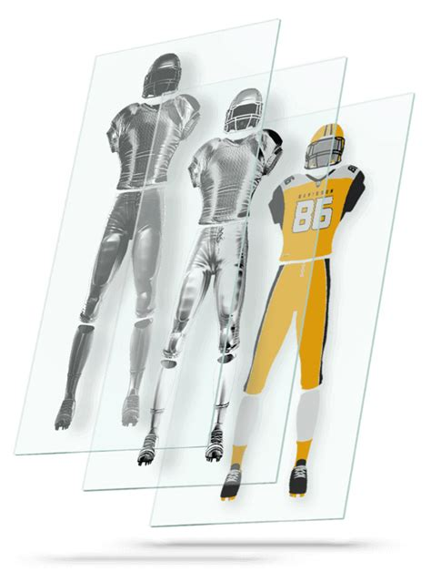 nfl football jersey uniform builder template
