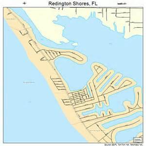 map of redington florida redington shores florida map 1259750