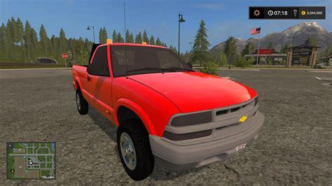 Chevy S10 by Chevy S10 Truck V1 0 Fs17 Farming Simulator 17