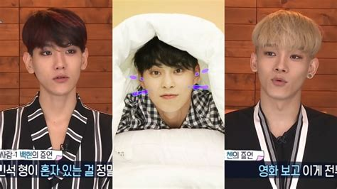 judul film xiumin exo exo s baekhyun and chen reveal just how much of a homebody