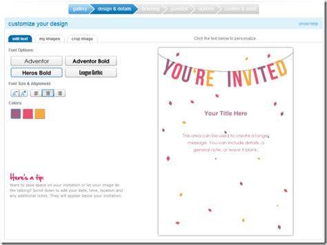 online invitation templates best template collection