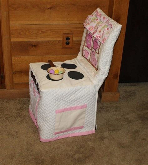 kids chair slipcover how to make a play kitchen slipcover craft projects for