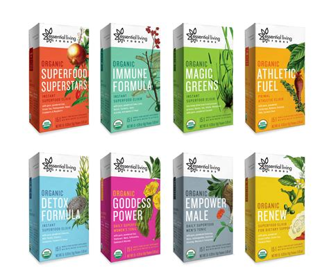 Summer Naturals Product Ethically Packaged by Essential Living Foods The Dieline Packaging