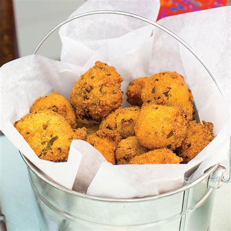 jalapeno hush puppy recipe crispy hush puppies recipe cooking with paula deen