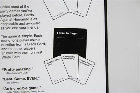 cards against humanity template cards against humanity base pack for horrible